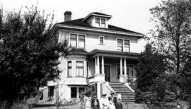 Home of Charles Harold and Flora Gowe at 3433 West 39th Avenue