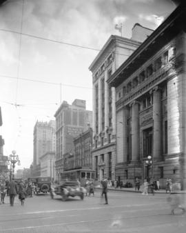 [View of  Hastings Street looking east from Granville Street]