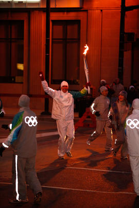 Day 051, torchbearer no. 207, Alan T - Burlington