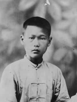 Foon Wong as a child