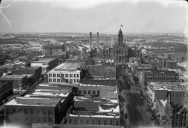 4 Fort Worth from N.W. Bldg. [northwest building]