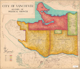City of Vancouver : history of political growth