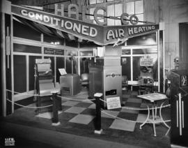 Hale Co. display of air conditioners
