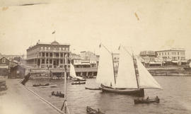 [Waterfront view of Port Arthur, Ontario]