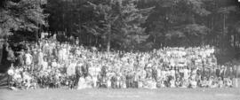 Annual Picnic H.B. Co. Employees Association.  Bowen Island Aug. 3rd 1921