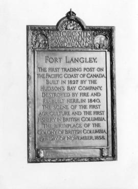 [Fort Langley Monument]