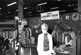 Ralph's Leather Shop display