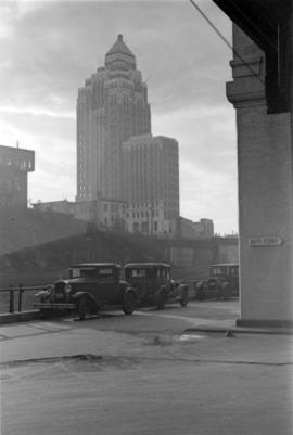 [View of the Marine Building]