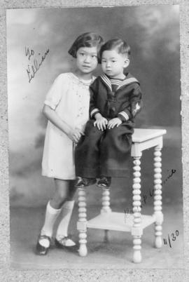 Winnifred Ho Eng's children, Winnifred Junior and Richard