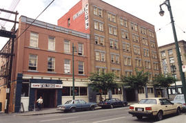 Exterior of the Columbia Hotel at 303 Columbia Street