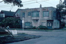 [Building at 2200 Yew Street on the] corner of Yew [Street] and 7th [Ave W]