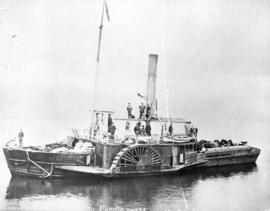 Beaver pioneer boat on Pacific Coast