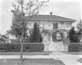 [Photograph of house at 1525 West 29th Ave., Vancouver B.C.]