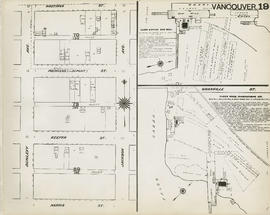 Plan of Vancouver, 1889 [fire map] : [Jackson Avenue to Hastings Street to Dunlevy Avenue to Harr...