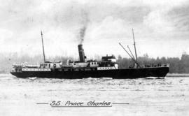 "[Canadian National Railways Ship] S.S. ""Prince Charles"" [later Union Ship ""Camosun..."