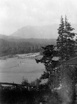 [View of the harbour and north shore from Prospect Point]
