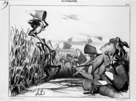 Daumier cartoon re: sugar beets