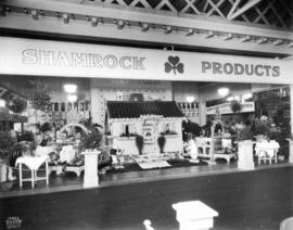 P. Burns and Co. display of Shamrock brand food products