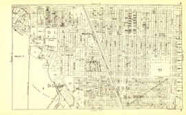 Sheet T : Marine Crescent to Granville Street and Forty-ninth Avenue to Sixty-first Avenue