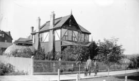 [Townley residence at Hastings and Burrard Streets]