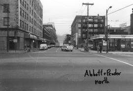Abbott and Pender [streets looking ] north