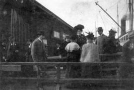 "[Passengers prior to boarding the ""Pearl of Pekin""]"