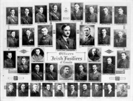 Portraits of the Officers of the Irish Fusiliers of Canada - 1930