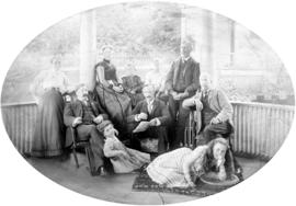 Family group, 644 Bute St.