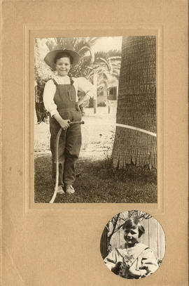 [Kenneth Taylor July 11, 1910, 8 years old and] April 10, 1910]
