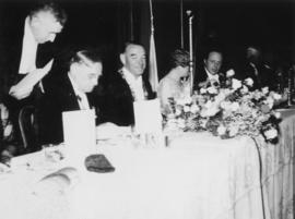 The Civic Banquet, Crystal Ballroom, Hotel Vancouver, August 20th 1936