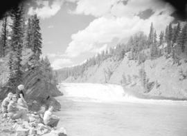 [View of] the Bow River