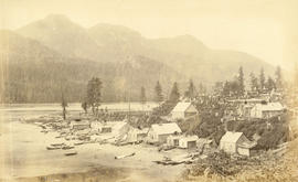 """Huktown"" an Indian village near Juneau"