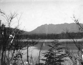 [View of the First Narrows from Pipe Line Road]