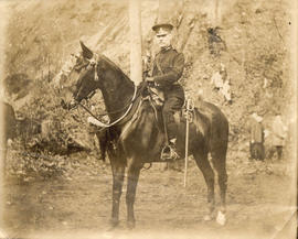 [Military officer on a horse]