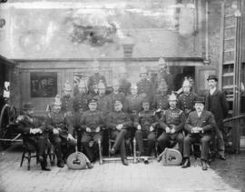 [Group portrait of fire fighters]
