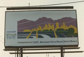 Centennial Seaboard billboard sponsored by C.U.P.E.