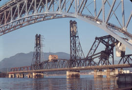 Second Narrows Bridge, old and new