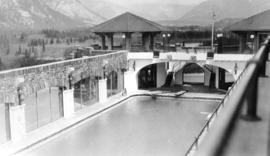 Gov[ernmen]t hotsprings and swimming pool