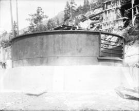 [Top of surge tank of hydraulic tunnel for Buntzen Lane Power Plant number two]