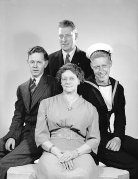 Mr. and Mrs. J.S. Martin and sons