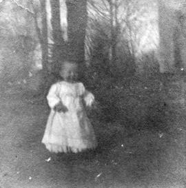 Katharine [Baker as a child]