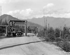 [Entrance on road to Grouse Mountain]