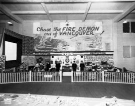 Vancouver Fire Department display on fire prevention