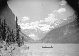 [Canoe on] Lake Louise