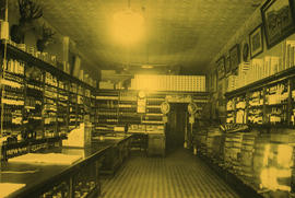 Liquor store interior, private, Turners next to H.B.C.