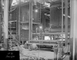 Powerhouse construction - assembly of equipment