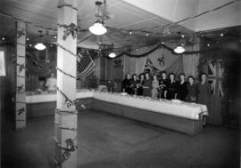 [Union Steamship Company Offices decorated for Christmas Staff Party]