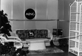 Ming display of home furniture