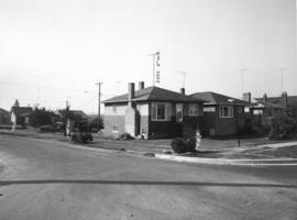 Slocan Street, west side, 6th to 7th Avenues - view southwest