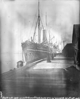 "[C.P.R. ship S.S. ""Athenian"" docked at C.P.R. wharf]"